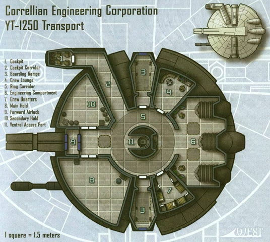 YT-1250 - plan. Christopher West, Scum and Villainy, Wizards of the Coast